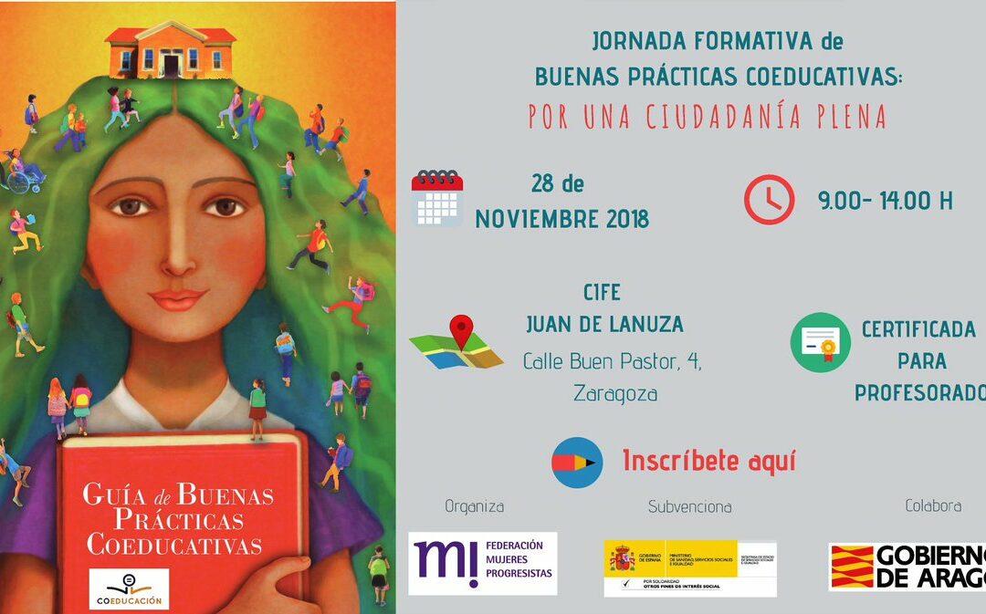 """Jornada Formativa de Buenas Prácticas Coeducativas: """"Por una ciudadanía plena"""""""