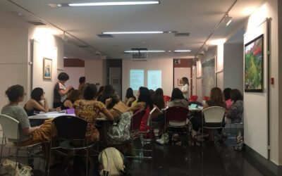 """World Café """"Liderazgo de las Mujeres y Corresponsabilidad"""""""