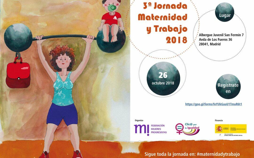 """3ª Jornada """"Maternidad y Trabajo"""" 2018"""