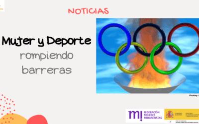Las Olimpiadas, donde también las mujeres rompen barreras