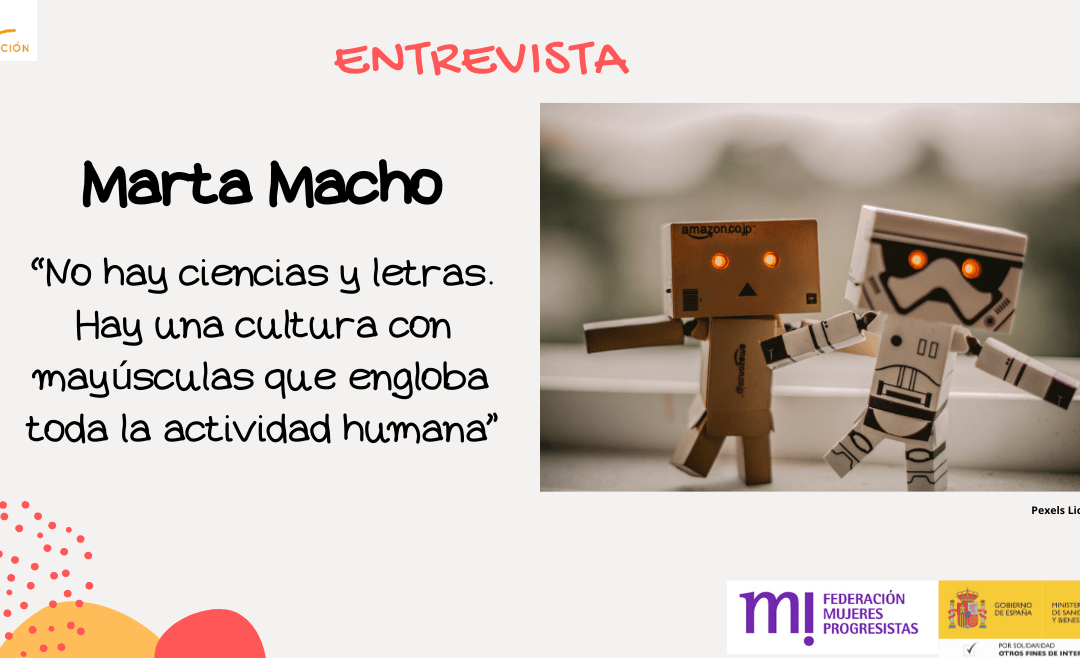Entrevista a Marta Macho