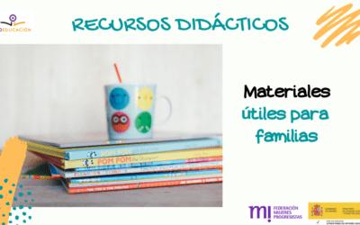Materiales útiles para familias